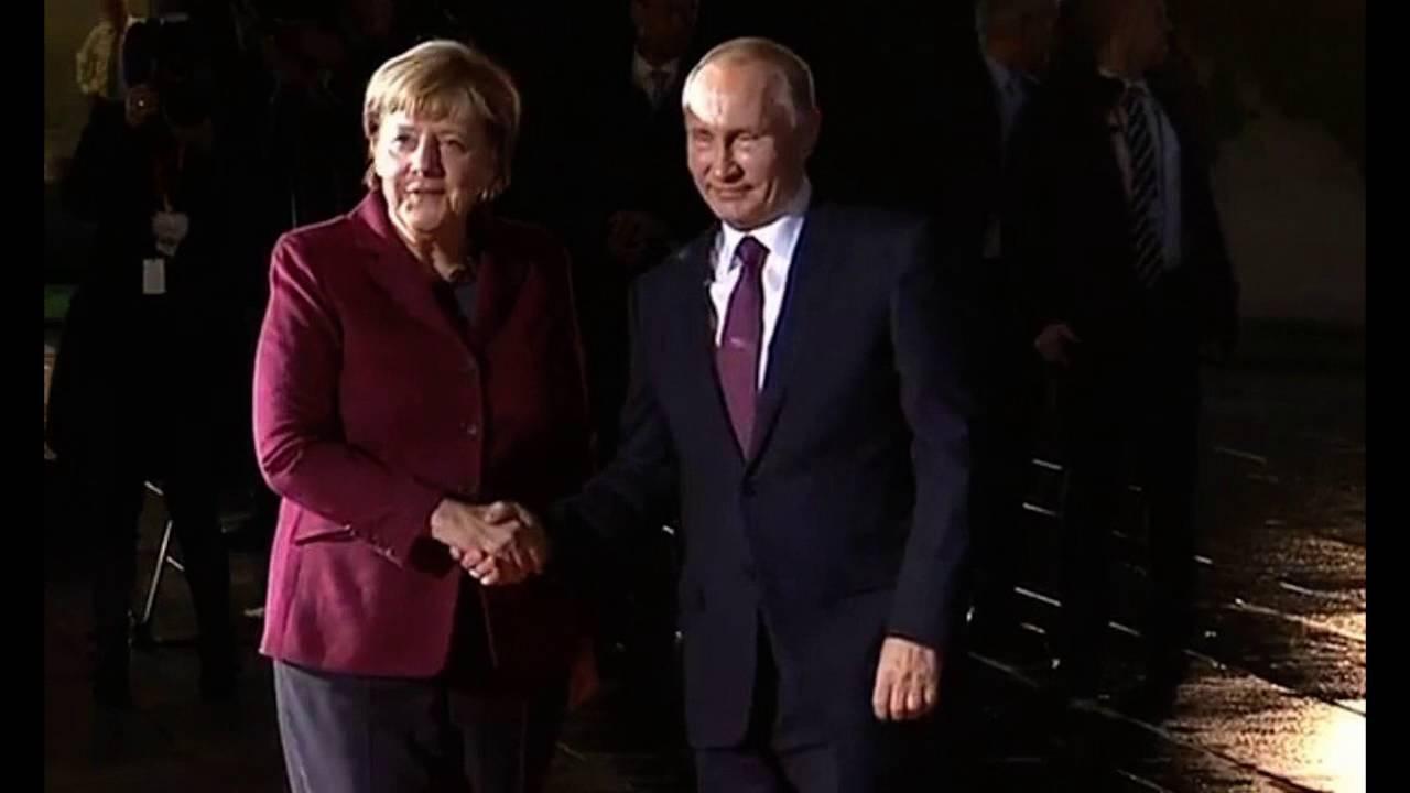 Prezident Putin přijel do Berlína na jednání o situaci na Ukrajině